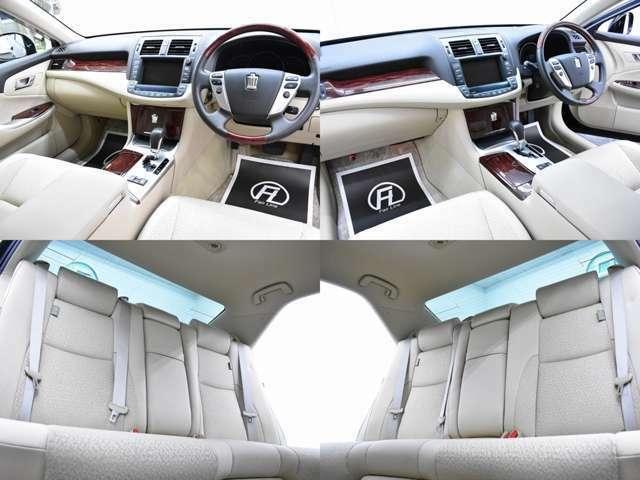 当社は専門の仕入れ担当による徹底した仕入れにより、全車高品質のノーマル車輛が随時入庫しております。運転席はもちろん助手席や後席からもうかがえる通り、とてもきれいな状態です。
