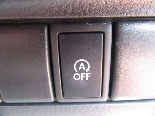 アイドル中の無駄な燃料消費を抑えるアイドリングストップ機能も装備!強制ストップ機能も付いて用途に合わせた使い分けが出来ますよ!