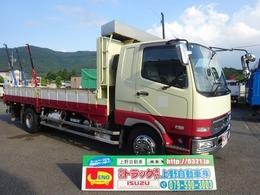 三菱ふそう ファイター 平ボディ 増トン 木製あおり5方開 7.3t積み ミカワグループ製/平ボディ