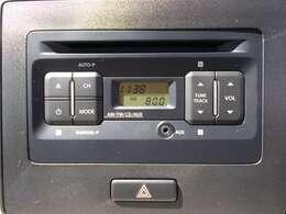 純正CDオーディオです!ドライブに欠かせない装備ですよね!