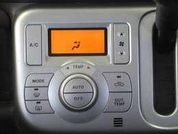 ◆エアコン◆温度の設定をしてAUTOボタンを押すだけ簡単。車内を快適な温度に保ってくれます
