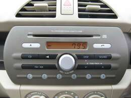 純正のオーディオも装備されておりますのでお好みのCDも再生可能です♪