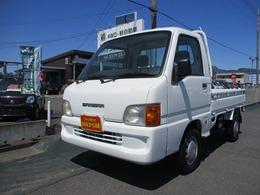 スバル サンバートラック 660 TB 三方開 4WD 5速/エアコン/スタッドレスタイヤ