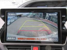純正10型SDナビ付き♪ ガイド線付バックカメラで駐車も安心ですね♪ モニターも大きく駐車の不慣れな方でも安心ですね♪