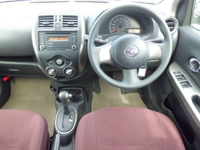 広い視界でよく見える運転席♪