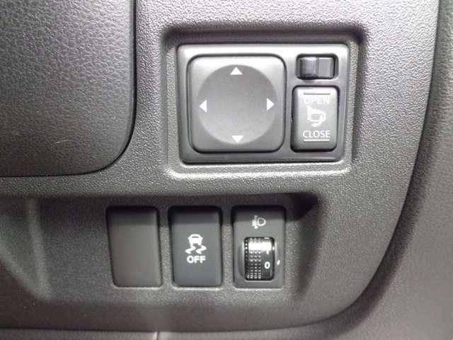 電動格納ドアミラー/横滑り防止装置