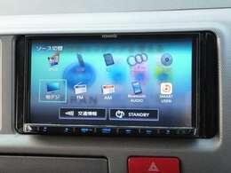 ◆2.ナビも装着済みです。CD再生/DVDの視聴/Bluetoothの接続が可能ですテレビはフルセグです。