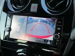 純正メモリーナビ!360度見えて安心安全に車庫入れしていただけるアラウンドビューモニター装備!