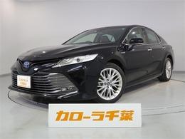 トヨタ カムリ 2.5 G レザーパッケージ 安全装置・ナビ・ETC・バックカメラ