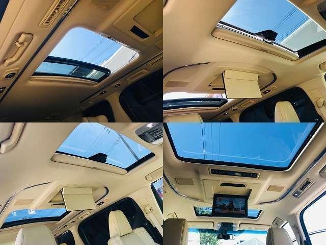 スイッチは前席の頭上です。サンルーフにはメリットがたくさん!車内が明るくなる、タバコの煙を逃がせる(換気)、開放感がある、空が見える、 車内が広く感じる、子どもが喜ぶ、売るときのリセールが高い!