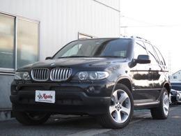 BMW X5 4.4i 4WD スポーツPKG 黒革 サンルーフ純正ナビ