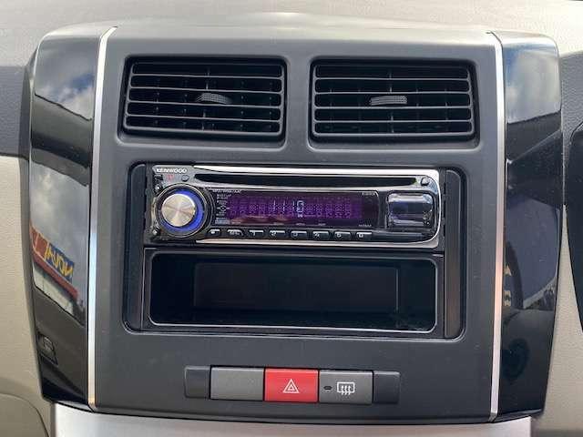 社外CDステレオ付きで快適ドライブ!