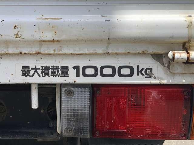 最大積載量1000kg
