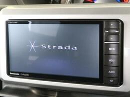 ☆Stradaナビ・地デジTV付☆オーディオ再生も可能です♪その他にドライブレコーダーやセキュリティー、音響のカスタムパーツも販売中☆お気軽にスタッフまで♪