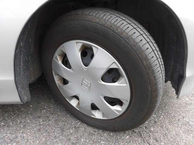 タイヤの溝もしっかり残っておりますので安心してお乗りいただけます!