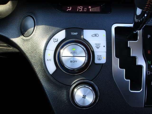 フルオートエアコンで、車内は何時も快適です。