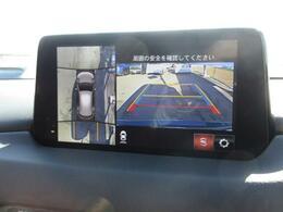 360°ビューモニター付きです。フロントパーキングセンサーも追加されますので標準装備のリアパーキングセンサーと相まって大切なお車の衝突の危機をお知らせいたします。