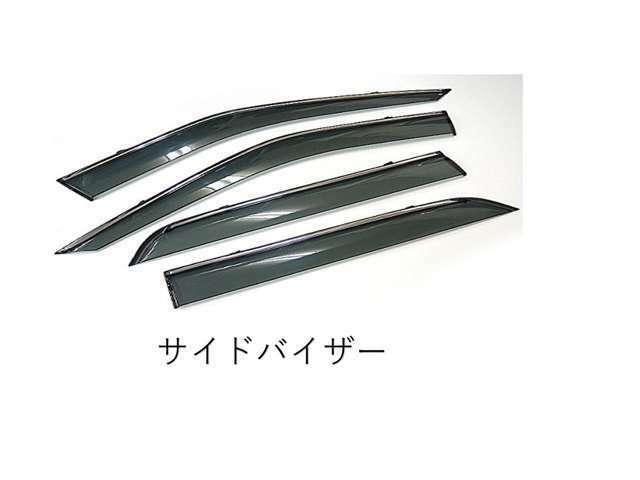 Bプラン画像:☆ドアバイザー☆社外品ですが、純正と質感やサイズはほぼ変わりません。車種専用設計です!!