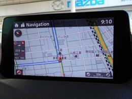 ナビゲーション機能を使えば、知らない場所に行っても近くにある施設を検索出来るので、困る事がありません。
