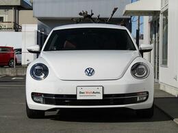 Beetleのアイデンティティが受け継がれているフロントフェイス!!