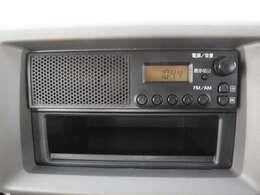 ラジオがついています!