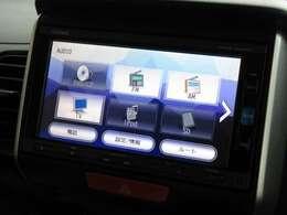 ナビゲーションはホンダ純正メモリーナビ(VXM-174VFi)が装着されております。AM、FM、CD、DVD再生、フルセグTV、Bluetoothがご使用いただけます。初めて訪れた場所でも道に迷わず安心ですね!