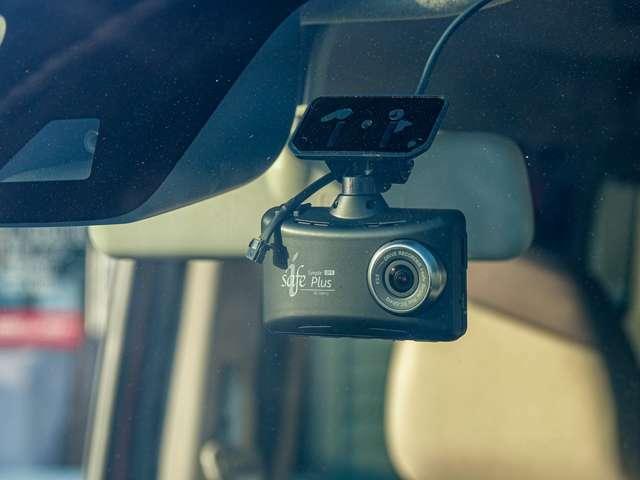 コムテック製GPSドライブレコーダー付きです