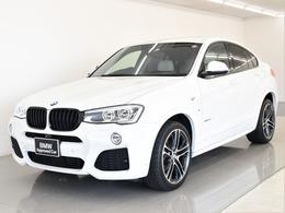 BMW X4 xドライブ35i Mスポーツ 4WD 本革 Tビュー ALED フルセグ OP20AW