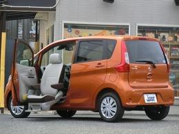 日産 デイズ 660 X 助手席スライドアップシート アラウンドビュー ナビ エマブレ ETC