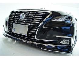 トヨタ クラウンロイヤル ハイブリッド 2.5 ロイヤル 後期 新品モデリスタ新品アルミ新品車高調