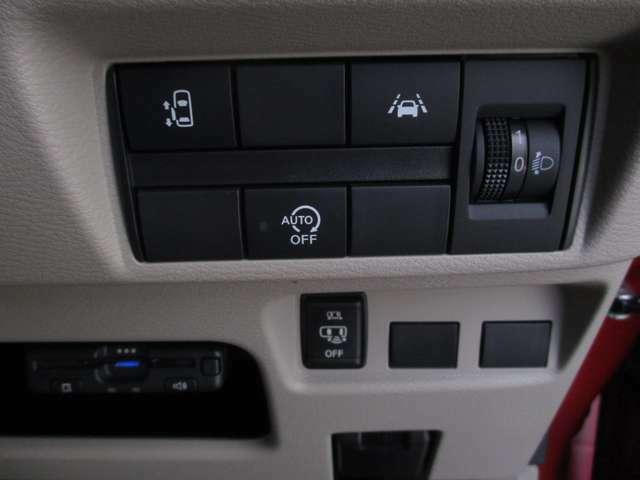 ハンドル右下には様々なボタンが配置されております!