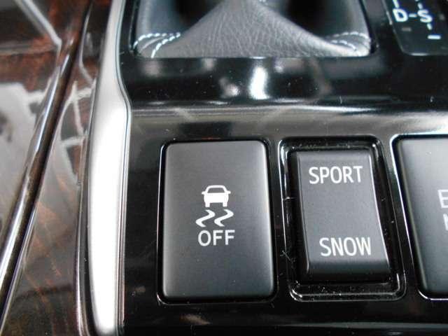 VDC(横滑り防止機能)で冬のスピンを防いでくれます!