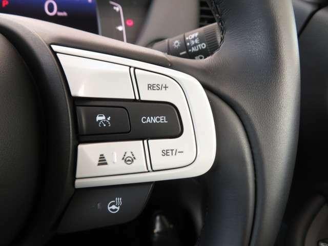 Hセンシングならではの★★★アダプティブ・クルーズコントロール★★★予め設定した車速内で車両が自動的に加減速してくれます♪前走車との適切な車間距離を維持しながら追従走行してくれます♪