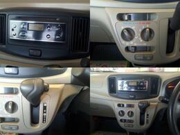 ラジオ、エアコン付きなので快適なドライブができます。