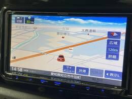 【KENWOOD SDナビ】を装備でロングドライブも快適です。フルセグTV視聴可能!