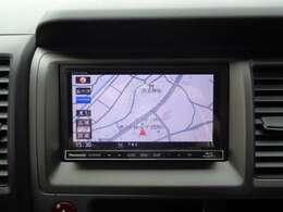 パナソニックSDナビです。フルセグTV、DVD再生、ブルーレイ再生、Bluetoothと充実機能の一台です。