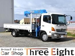 日野自動車 レンジャー 3段ユニック ラジコン メッキバンパー 3段タダノ/ラジコン/6速MT車