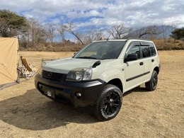 日産 エクストレイル 2.0 X 4WD アウトドア アルミ アップサス 全塗装済