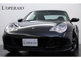 ポルシェ 911 ターボ 4WD 6MT 黒レザ- アルカンタ-ラル-フライナ-