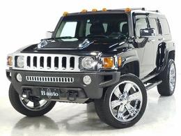 ハマー H3 タイプG 4WD 正規D車 タイプG 社外22AW 社外マフラー