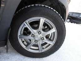冬14インチアルミ!タイヤの状態も良いです!