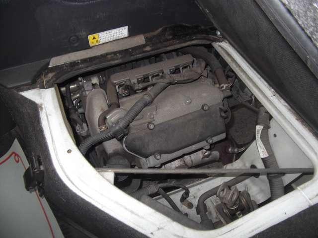 エンジン周りの写真です。