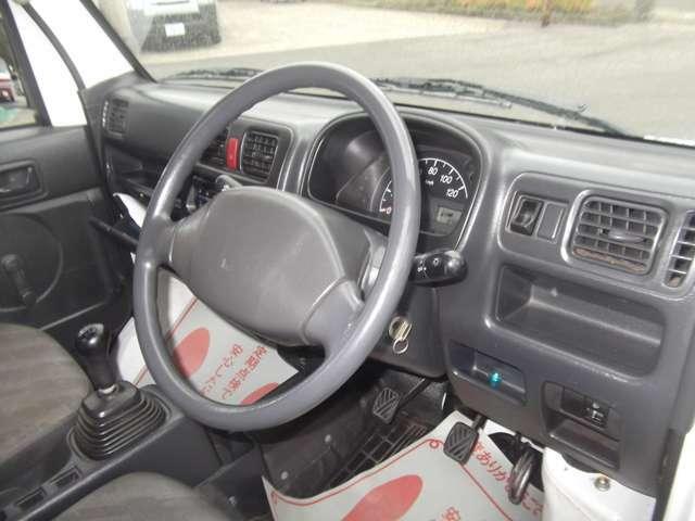 運転席・助手席ともキレイですよ!