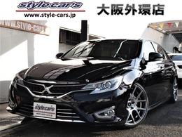 トヨタ マークX 2.5 プレミアム 新品WORK19インチ TEIN車高調 ナビTV