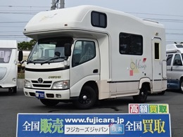 トヨタ カムロード ナッツRV ミラージュ FFヒーター 冷蔵庫 ツインサブ ナビ