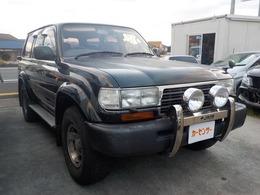 トヨタ ランドクルーザー80 4.2 GX ディーゼル 4WD SR