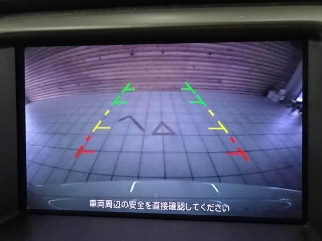 バックカメラ装備で後方確認もラクラクです。