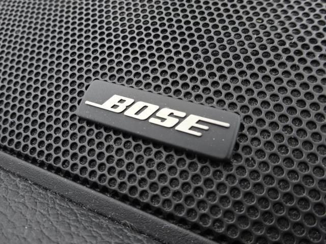 BOSEサウンドシステム搭載。音質の違いをご堪能ください。