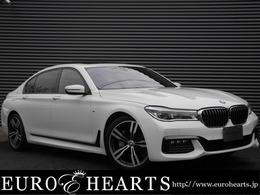BMW 7シリーズ 740Li Mスポーツ 黒革SRリアエンタ純正オプション20AW地デジ