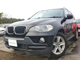 BMW X5 xドライブ 30i 4WD ナビBカメラETC黒革パークセンサー禁煙